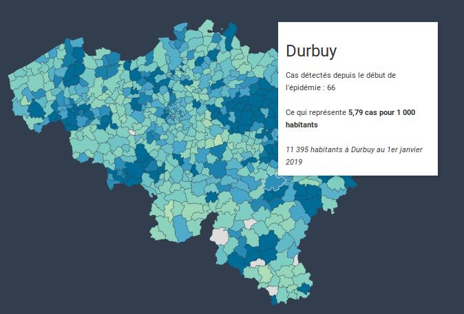 Durbuy, bientôt le Wuhan Belge ?