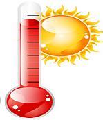 Relevé des pluies et températures sur les 8 premiers mois de l'année entre 2016 et 2020  Quel est l'année la plus chaude ? La plus sèche ?